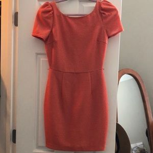 Beautiful spring orange dress by Ark &co